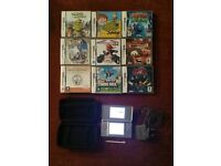 Nintendo DS Lite (Grey) + Case + 9 Games - Collect Only - Sensible Offers