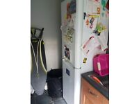 Indesit upright fridge freezer 18 months old, immaculate