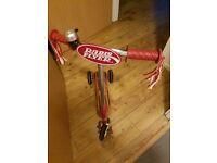 Radio Flyer 3 Wheeled Twist Scooter....