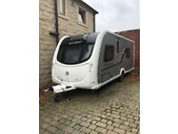 Swift Conqueror 570 2012 with porch awning and extras
