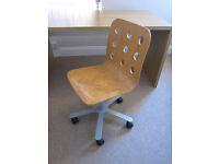 Ikea Birch Swivel Chair