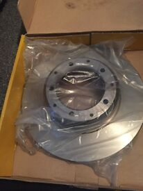 National brakes discs x2-landrover defender