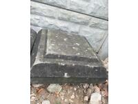 Coping Stones - wall post topper