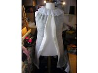 KNEE LENGTH KNITTED SHAWL COAT