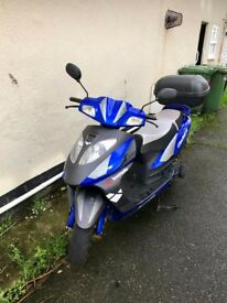 Lexmoto Gladiator 125 (180cc upgrade) Low miles
