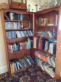 Pine bookcases (2)