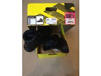 Dunlop safety steel toe boots - black size 11 (46) brand new in box