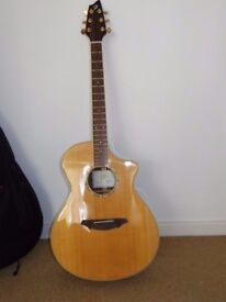 Breedlove AC25/SR electro acoustic, solid spruce top, solid rosewood back, Fishman IV pickup,