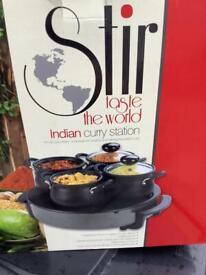 Curry/food warming set