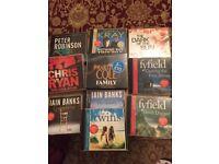 10 Audio books.