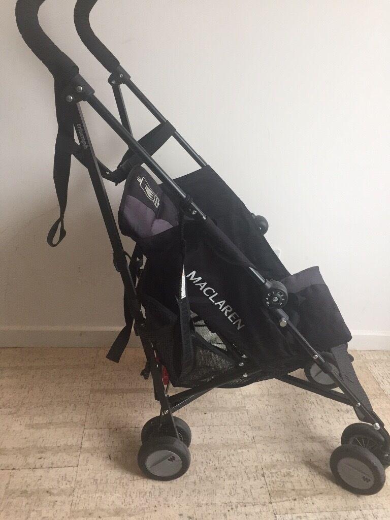 Maclaren Stroller Triumph black