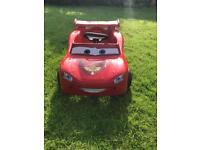 Pedal Lightening McQueen Car