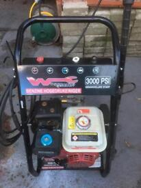 Petrol power washer for sale