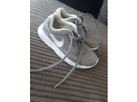 Infant size 11 nike trainers good condition