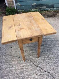 Victorian Pine Pembroke Table
