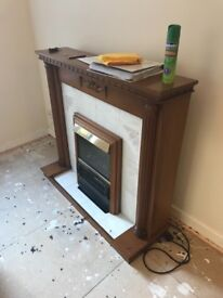 FREE - Electric Fireplace.