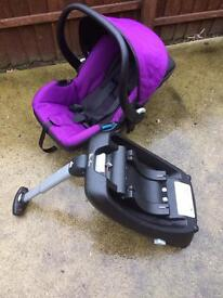 Silvercross car seat and base