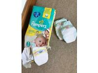 Pampers premium protection nappies - Size 1