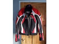 rst pro series motorcycle jacket medium
