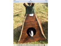 Glamping, teepee, rustic, dog kennel, pet home, handcrafted