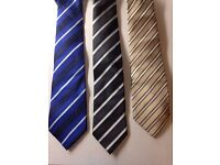 Paul Smith, Hugo Boss and Pierre Cardin: Men Ties