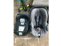 Stokke baby seat and iso fix