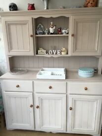 Painted pine dresser dining living room furniture
