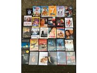 129 DVS's with new and old movies / films