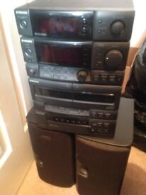 Pioneer Stereo System with 6 Cd Changer