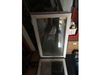 Timber framed double glazed windows 3+1 broken