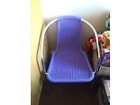 Purple chair