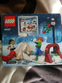 LEGO Toy Workshop 40107 (RARE, LIMITED EDITION)