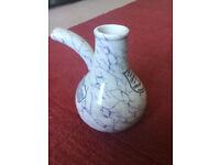 Antique earthenware enhaler - S Maw Son & Thompson c.1890, £20 only!