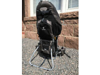 Brilliant Deuter Kid Comfort III 3 baby child backpack carrier - almost as-new!