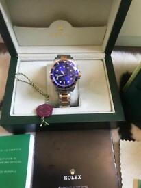 Rolex Submariners Watches Boxed with full accessories