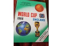 1966 England Commemorative Book Annual