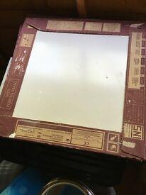 Porcelanosa Floor tiles - Turin Blanco - 7 Boxes