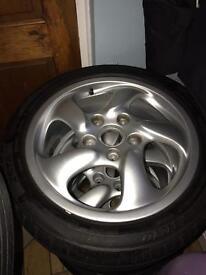 Wheels (Porsche twists)