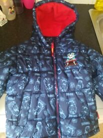 Thomas Coat ~ Age 4-5 Years