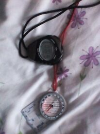 Stopwatch and Compass