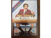 Will Ferrel Anchorman DVD