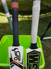 Cricket bats for kids Kookaburra and GM