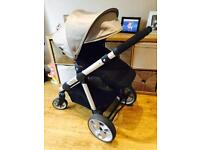 I candy apple to pear pram package with maxi cosi car seat