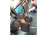Tefal Pans - Wok frying pan. Griddle pan