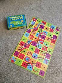 Snakes and Ladders floor puzzle