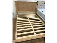 Solid Pine Bed Frame Only
