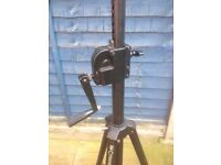 Citronic Lighting/Speaker Stand with Winch
