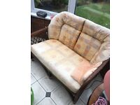 3 piece whicker conservatory furniture