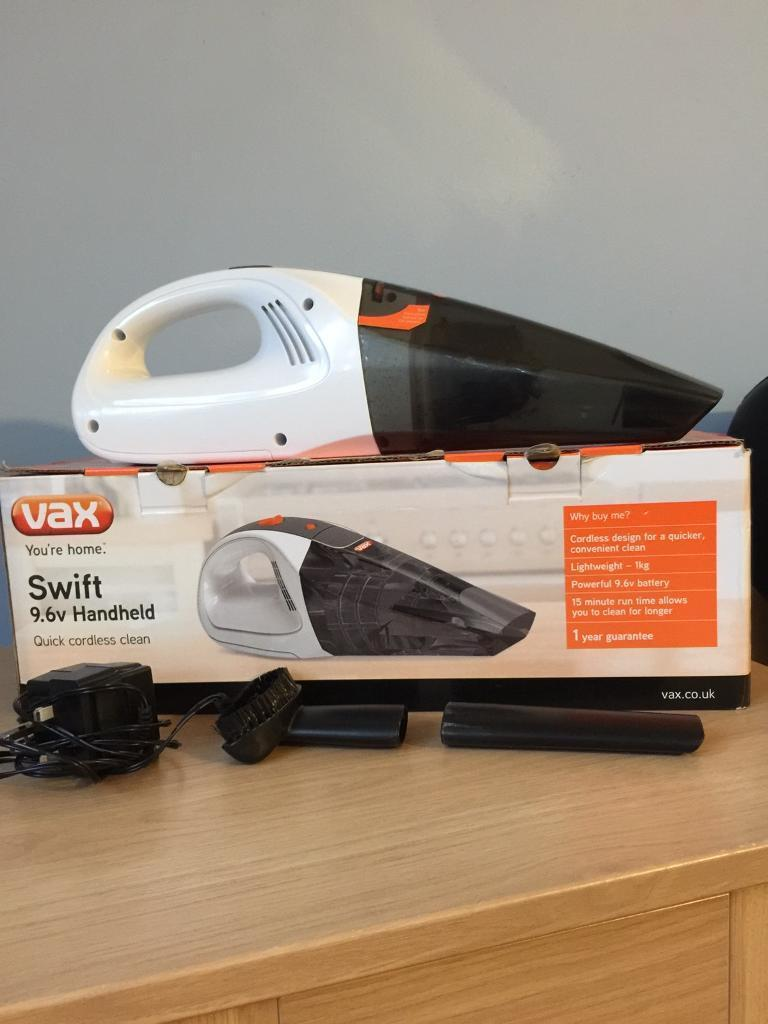 VAX SWIFT 9.6V HANDHELD VACUUM
