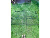 Steel gates £150